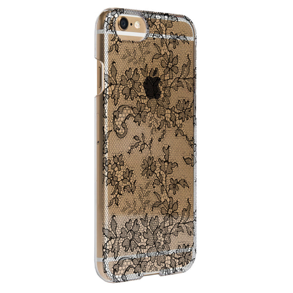 Case - IPhone 6/6s SlimShield - Clear Fishnet Lace