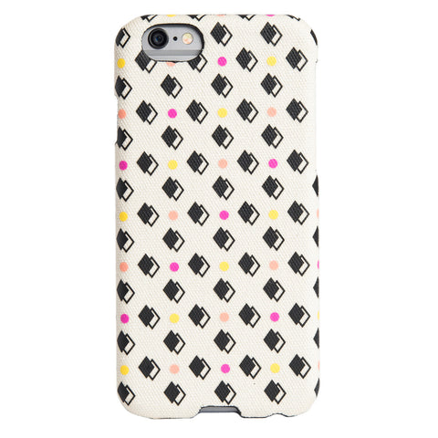 Case - IPhone 6/6s SlimShield - Dots Over Fabric