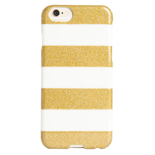 Case - IPhone 6/6s SlimShield - Glitter Stripes