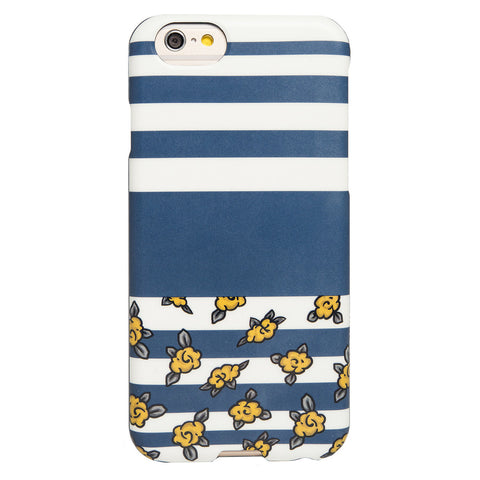 Case - IPhone 6/6s SlimShield - Navy/Yellow Floral