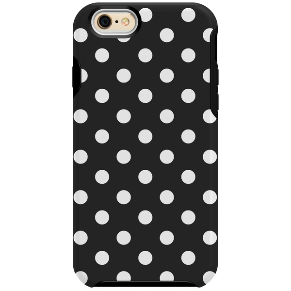 iPhone 6/6s Shock - Black and White Dots