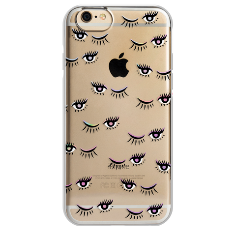 iPhone 6/6s ShockSlim - Iridescent Eyelashes