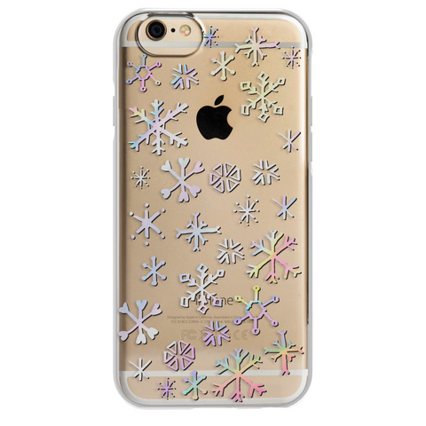iPhone 6/6s ShockSlim - Iridescent Snowflake