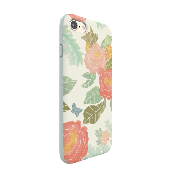 iPhone 7 Flexshield - Pastel Flowers