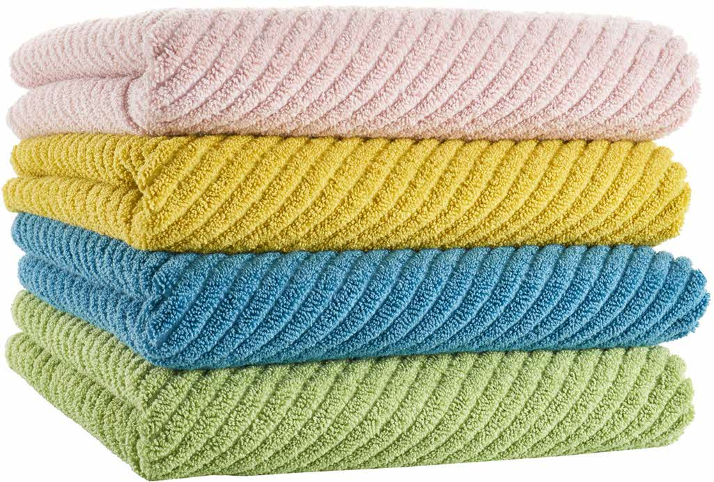 Abyss Super Twill stack of towels