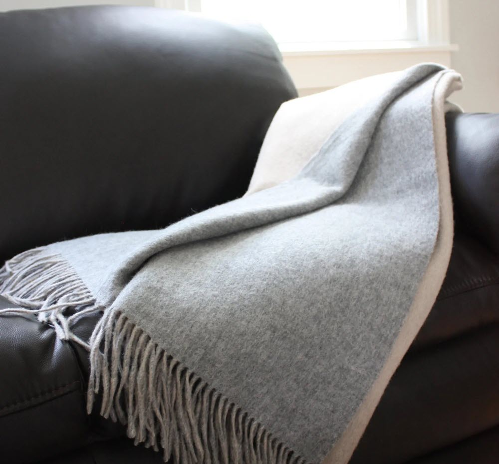 Alashan's Cashmere Double Faced Essential Throw blankets