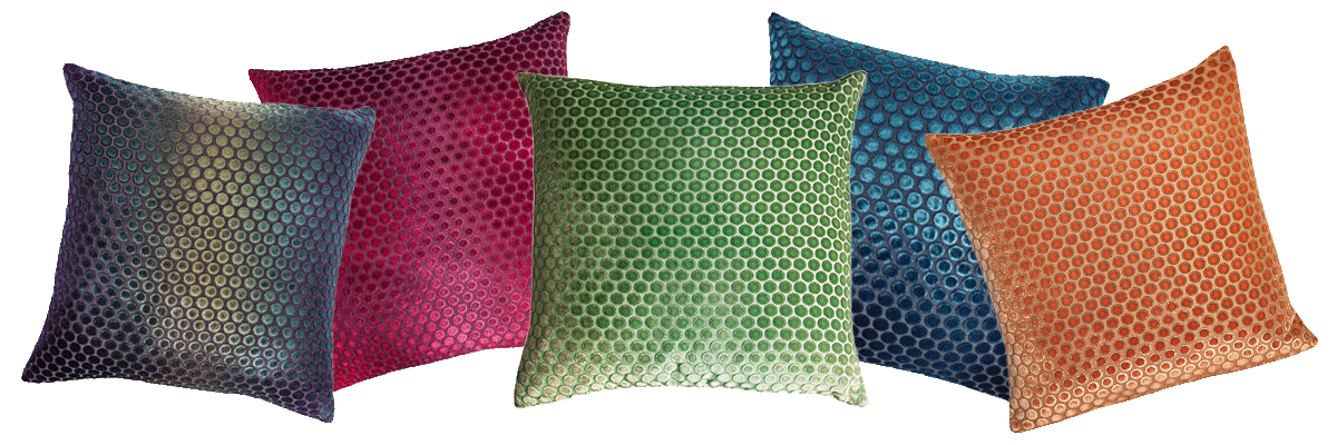 The Kevin O'Brien Studio Dots Silk Velvet Collection