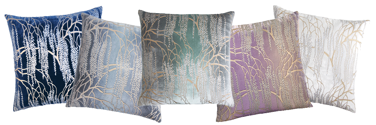 The Kevin O'Brien Studio Metallic Willow Velvet Collection