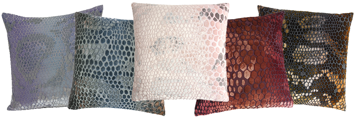 The Kevin O'Brien Studio Snakeskin Silk Velvet Collection