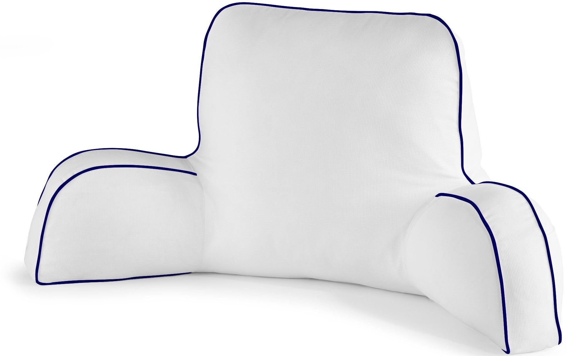 The Pique Backrest Pillow from Peacock Alley