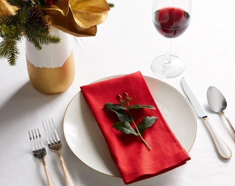 Set of SFERRA Cartlin Napkins