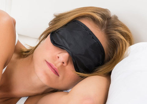 100% Silk Charmeuse Eye Mask
