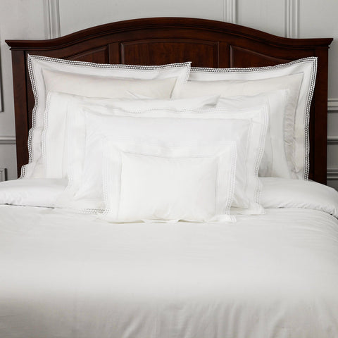 Peter Reed Nuns Pleating Bedding - White