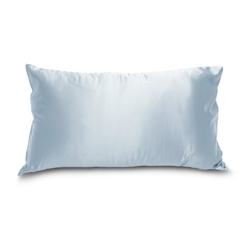 Mulberry Park Silks - Deluxe 22 MM Pure Silk Pillowcase - Blue