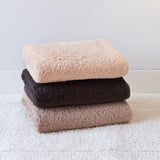 Graccioza Long Double Loop Bath Towels - Natural