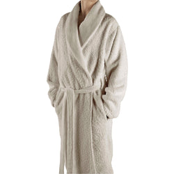 Abyss Super Pile Bath Robes - Ecru (101)