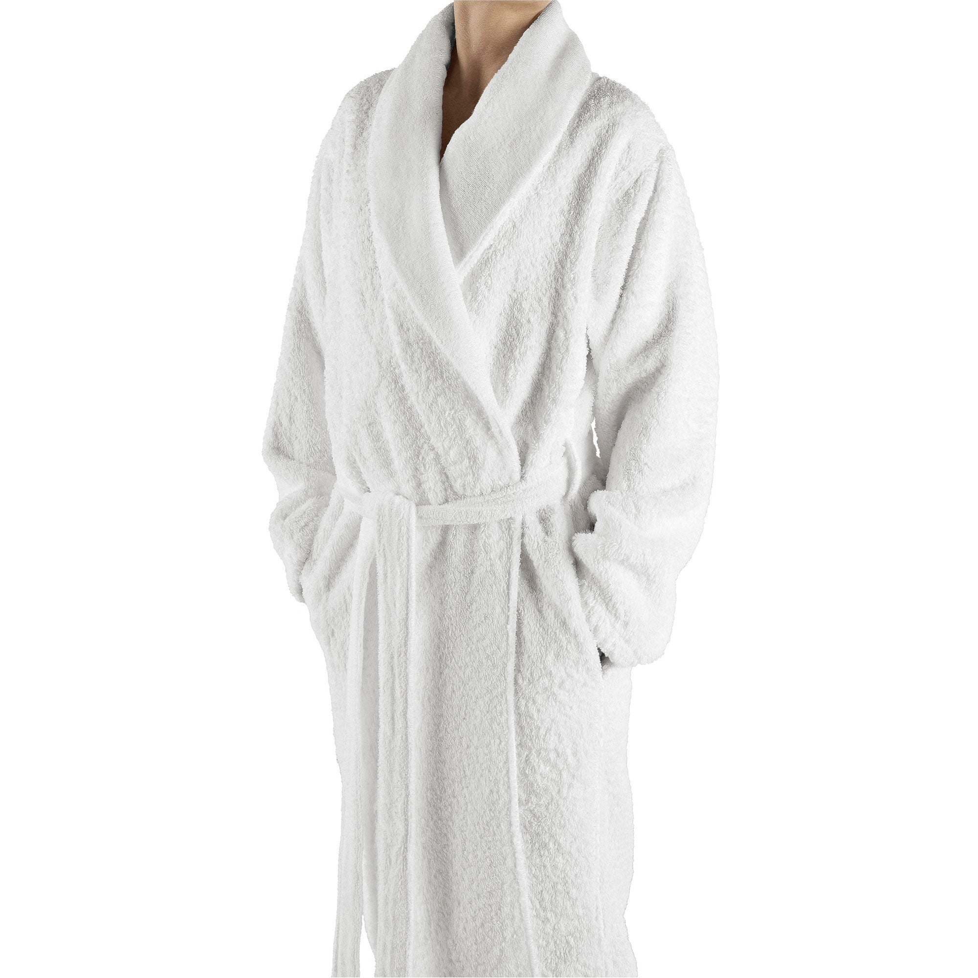 Abyss Super Pile Bath Robes White 100 Flandb Com