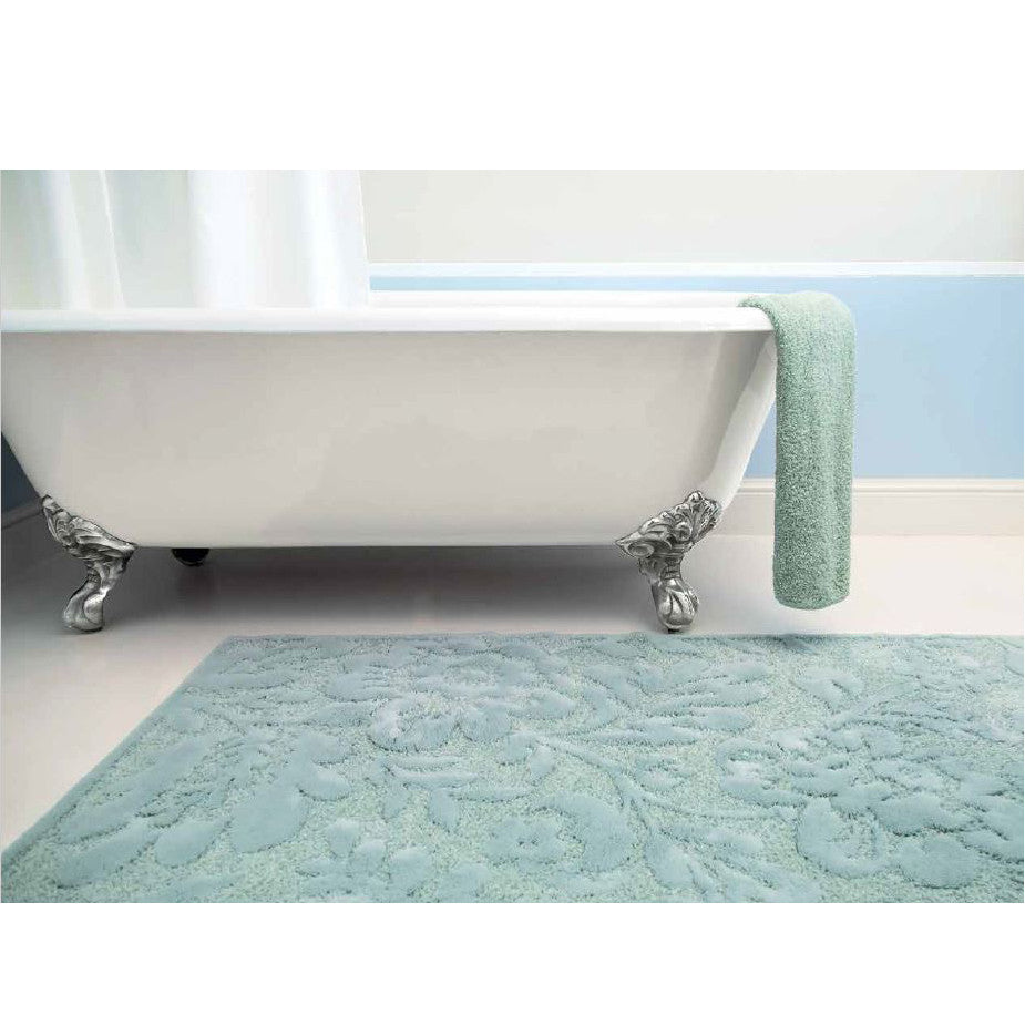 Habidecor Brighton Bath Rug White Luxury Bath Mats