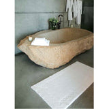 Habidecor Kelly Bath Rug - Platinum (992)