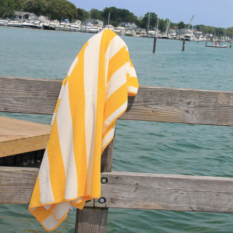 Abyss Prado Beach Towels - Banane (830)