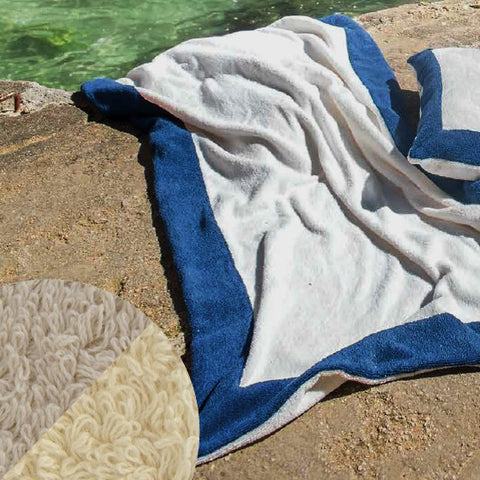 Abyss Portofino Beach Towels and Pillows - Linen (770)