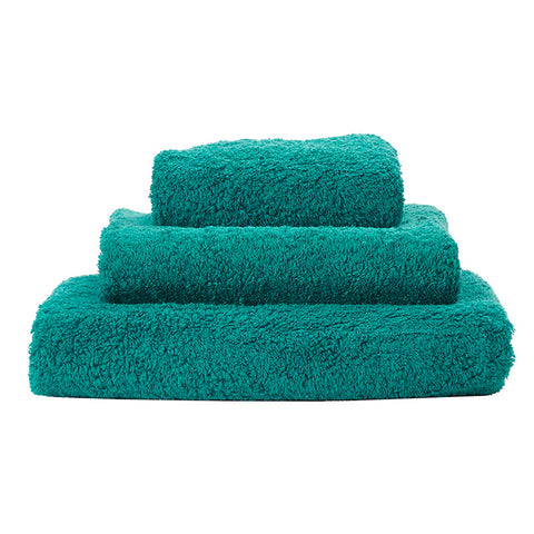 Abyss Super Pile Bath Towels - Peacock (301)