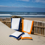 Abyss Portofino Beach Towels and Pillows - Orange (635)