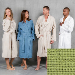 Abyss Pousada Bath Robe - Apple Green (165)
