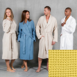 Abyss Pousada Bath Robe - Lemon Curry (860)