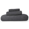 Abyss Super Twill Bath Towels - Gris