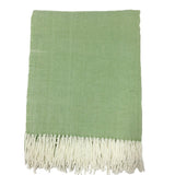 Alashan Adirondack Herringbone Throw - Palmetto