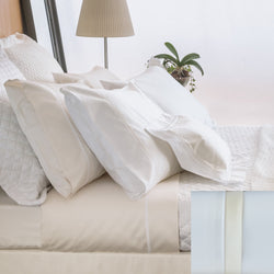 BOVI Estate Bedding - White/Ivory