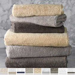 Matouk Cairo Bath Towels - Smoke Gray/Smoke Gray