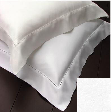 Dea Bella Percale Bedding - White