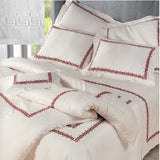Dea Etruria Embroidered Bedding - White