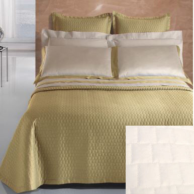 Dea Vienna Coverlets and Shams - White