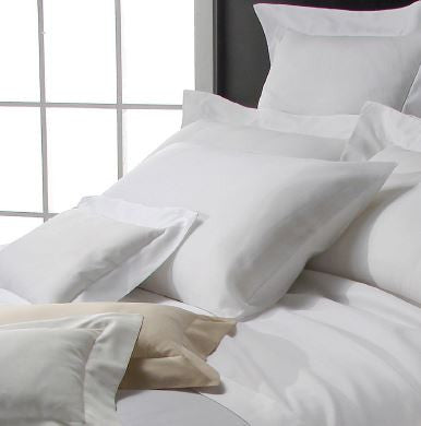 Dea Voile Bordo Bedding - White