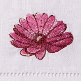 Sferra Fiori Embroidered Cocktail Napkins