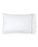 Sferra Grande Hotel Sheet Sets - White/Aqua
