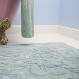 Habidecor Brighton Bath Rug - Aqua (210)