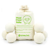Heritage Park Wool Dryer Balls - White / 6 pack