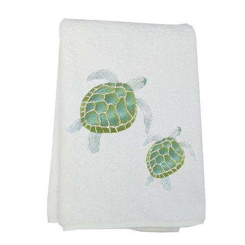 Anali Honu Turtle Linen and Terry Towels
