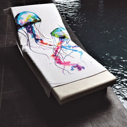 Graccioza Jellyfish and Octopus Beach Towels