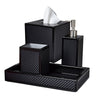 Mike and Ally Le Mans Bath Accessories - Black