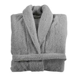Graccioza Long Double Loop Bath Robe - Anthracite