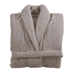 Graccioza Long Double Loop Bath Robe - Stone