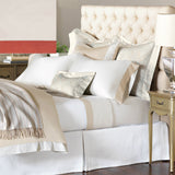 Nancy Koltes Versailles Bedding - Wheat/Coral
