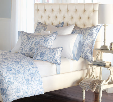Nancy Koltes Acanthus Bedding - Azure