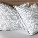 Nancy Koltes San Marco Bedding - Slate