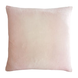 Kevin O'Brien Studio Ombre Silk Velvet Decorative Pillow - Blush